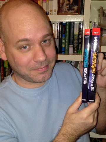 Jason with two uncorrected proofs